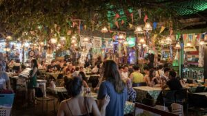 Restaurante abarrotado