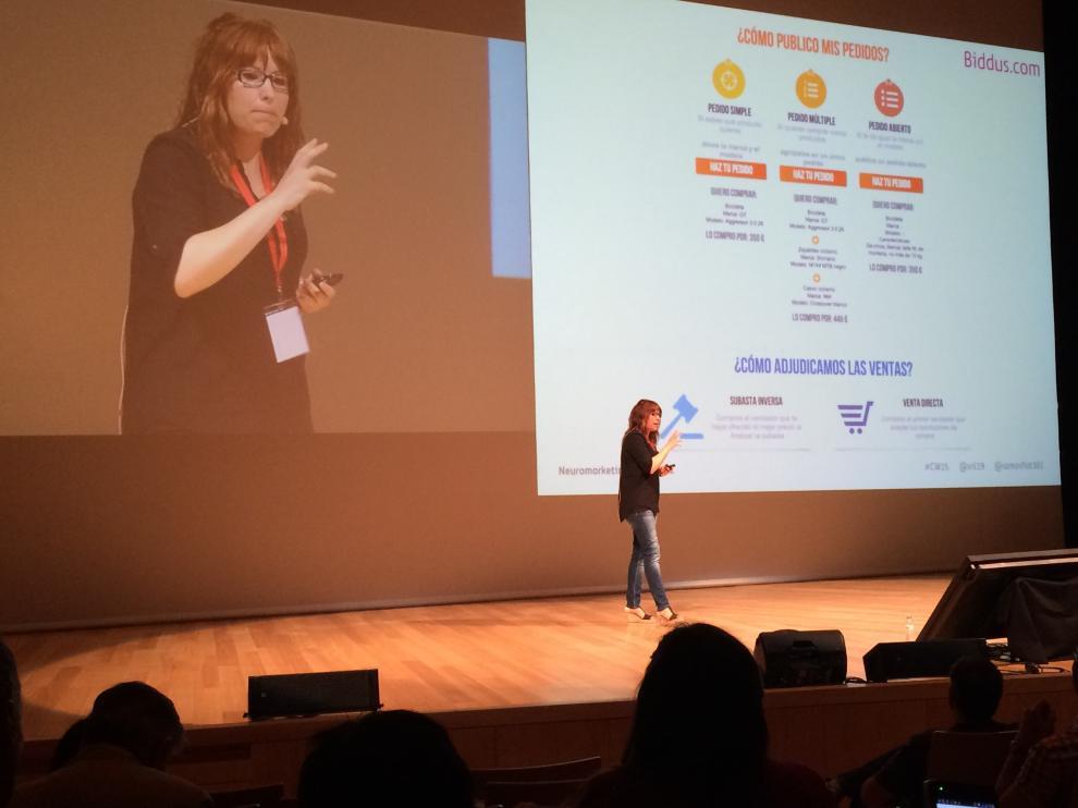 Charla en el congreso web Zaragoza 2015 acerca del neuromarketing aplicado al ecommerce