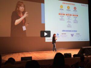 Ponencia en Congreso Web 2015 acerca del proyecto de rediseño de ecommerce validado con neuromarketing